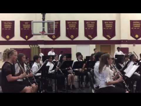 Community House middle school spring concert 201605