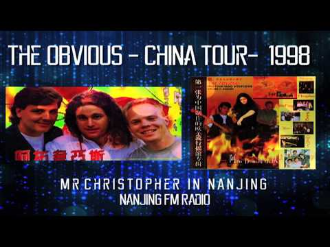 Nanjing: The OBViOUS China Tour 1998: mr christopher Radio Interview on Nanjing FM Radio