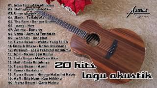 Gambar cover 20 hits lagu akustik