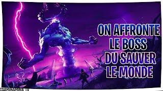 LE BOSS DE MORNE LA VALLÉE EST OUF !! fortnite sauver le monde