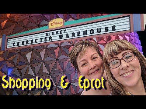 Ang's Orlando Vlog #11   Shopping & Epcot