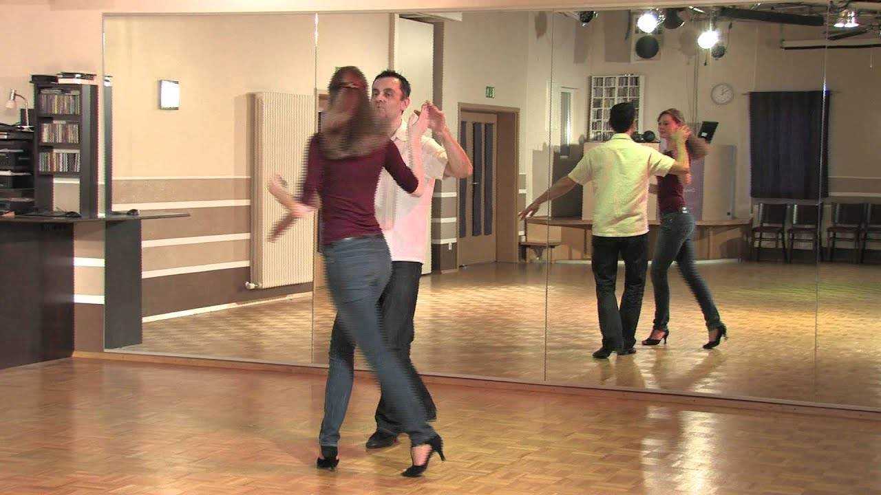 Drehung beim tanzen