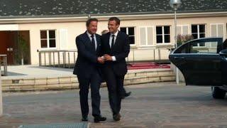 Luxembourg: Macron accueilli par le Premier ministre Bettel