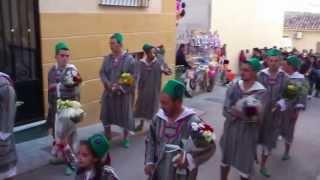 Llegada Pakkos a la plaza de Benamaurel