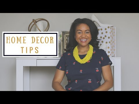 5 Home Decor Tips For A Small Space: Studio, Tiny Apartment, Home Office, or Dorm