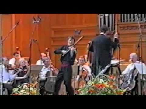 Sibelius Violin Concerto - Allegro ma non troppo by Nicolas Koeckert at Tchaikovsky Competition