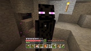 Minecraft Xbox - Quest To Kill The Ender Dragon - Endermen Hunting - Part 5