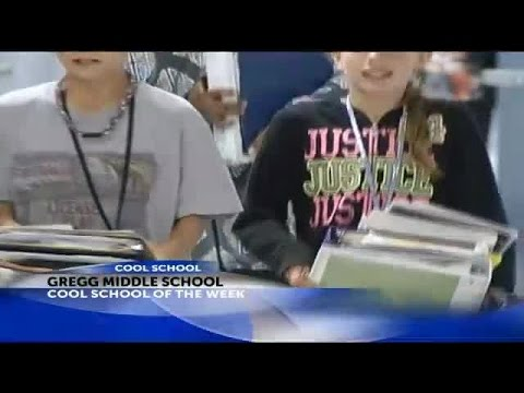 Cool School: Gregg Middle School receives the Cool School of the Week award