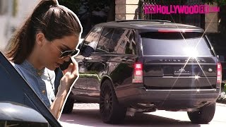 Kendall Jenner Arriving To Her Luxury Condominium  -