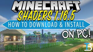 How To Download & Insтall Shaders on Minecraft PC (1.16.5)