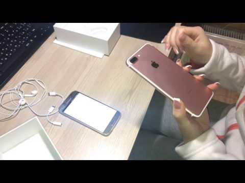 Идеальный телефон для девушки Iphone 7 plus Rose Gold