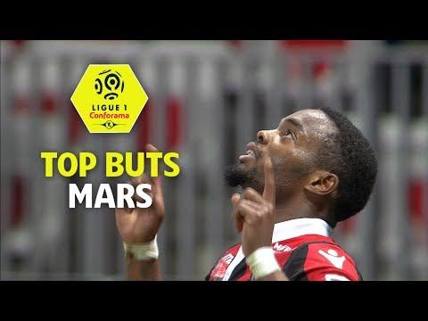 Top buts Ligue 1 Conforama - Mars (saison 2017/2018)