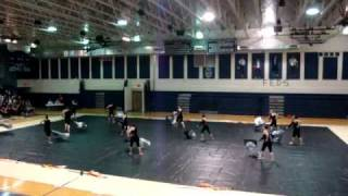 Tom C. Clark Winterguard- Rejoice