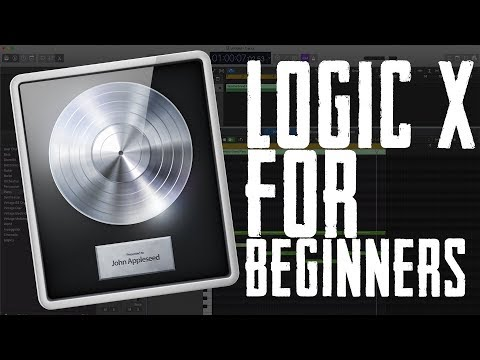Logic Pro X Tutorial 2017 | How to Use Logic Pro X For Beginners