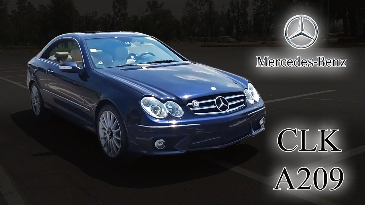 Mercedes-Benz CLK A209 - Reseña