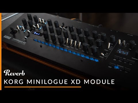 Korg Minilogue XD Module   Reverb Demo