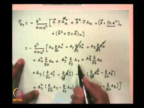 Mod-01 Lec-05 RF Conductivity of Plasma Contd