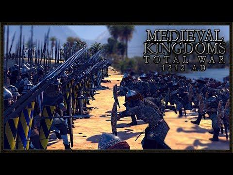 Massive Medieval Battle Of The Desert - Total War: Medieval Kingdoms 1212AD Gameplay