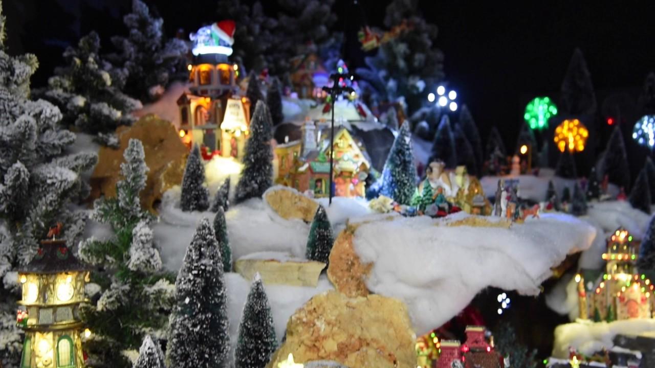 Paesaggio Lemax  Villaggi natalizi in movimento  YouTube