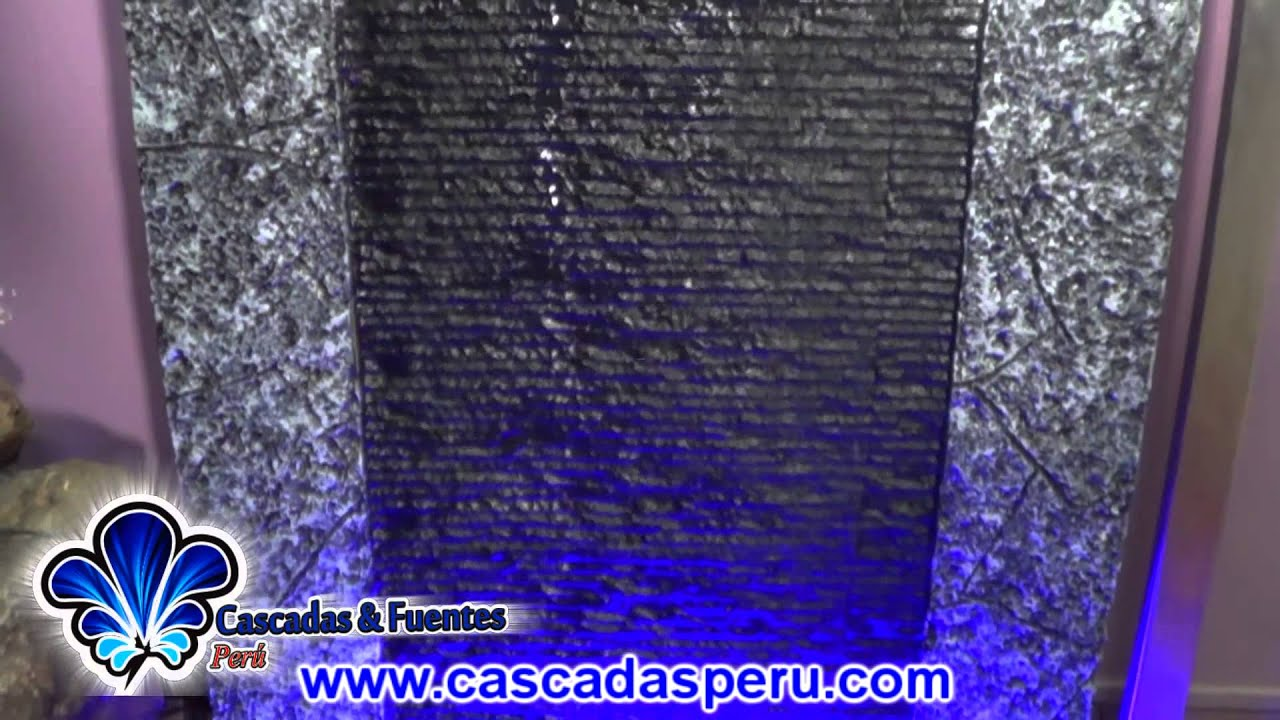 Cascadas artificiales muro llor n piletas fuentes de for Cascada artificial en pared