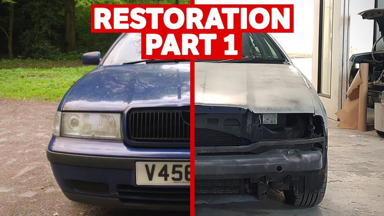 restoring a high mileage car to its former glory part 1 2 youtube