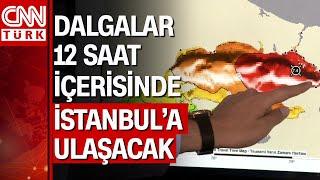 İstanbul'da 7.4 büyüklüğünde deprem olursa bu sistem tsunami uyarısı verecek