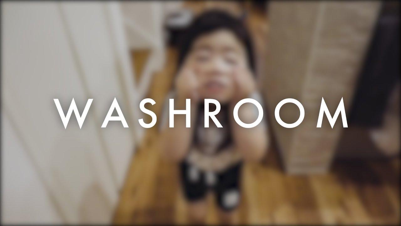 3才の愛娘が妨害しまくってくる洗面所DIY