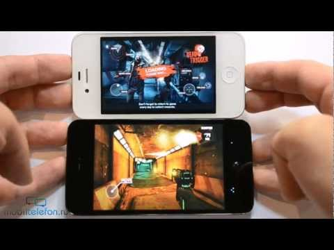 Meizu MX 4-core vs iPhone 4S: сравнение скорости (speed comparison)