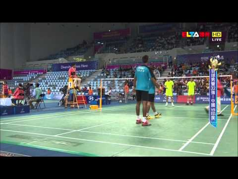 [HD] R32 - 2014 Asian Games - MD - CAI Y. / ...
