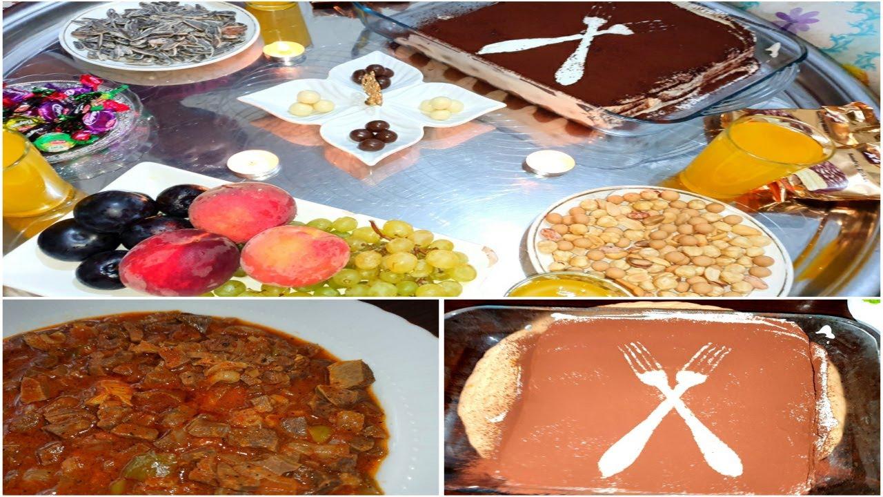 احتفالنا بعيد الغدير  | طبخت فشة الغنم🐑 | حلويات ايطاليا #حلو#التيراميسو