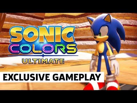 Новый геймплей Sonic Colors Ultimate показали на Play For All 2021