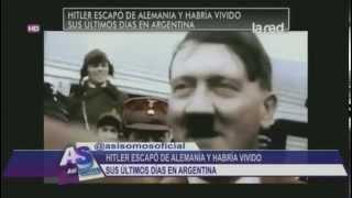 Salfate - HITLER ESCAPO DE ALEMANIA Y VIVIO EN ARGENTINA