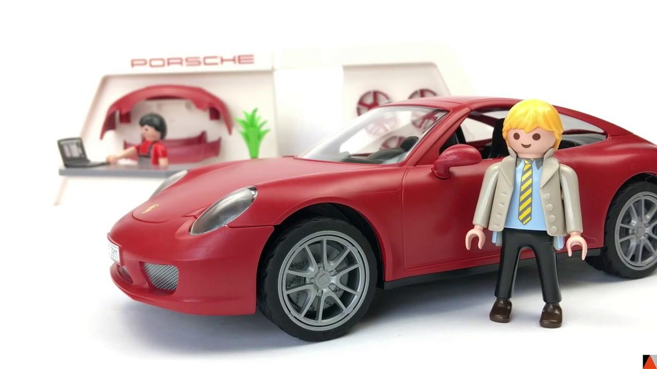 playmobil porsche 911 carrera s juguetes nabumbu una mam novata youtube. Black Bedroom Furniture Sets. Home Design Ideas