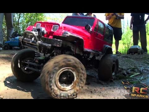 RC ADVENTURES - TTC 2011 - 3 of 5 - TUG oF WAR - 4X4 TOUGH TRUCK CHALLENGE