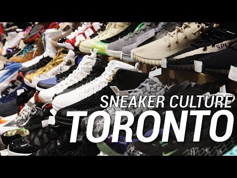 BEST PLACE TO FIND SNEAKERS IN TORONTO!