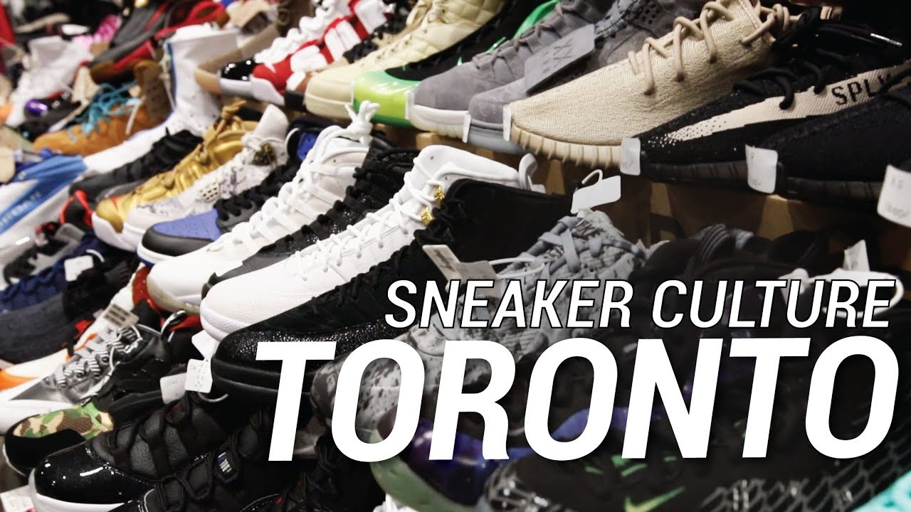 2915b712a56ca BEST PLACE TO FIND SNEAKERS IN TORONTO! - YouTube