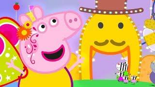 Peppa Pig Português Brasil | 💙A CIDADE DA BATATA 🎡 Especial de Carnaval❤️| HD | Desenhos Animados