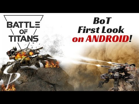 Battle Of Titans - First Look Gameplay On Android!