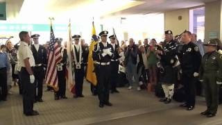 US Honor Flag arrives in San Diego for SDPD Officer Jeremy Henwood