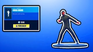 FORTNITE NEW CRISS CROSS EMOTE! FORTNITE NEW ITEM SHOP UPDATE! NEW HEAVY ASSAULT RIFLE FREE VBUCKS