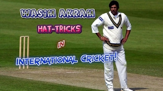 Download Video All Wasim Akram Hat-Tricks in Cricket | SULTAN OF SWING...KING OF YORKERS!! MP3 3GP MP4