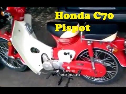Masih Tangguh, Motor Honda C70 Pispot 1971