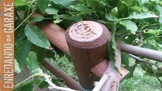 Valla soporte para trepadora de jardin