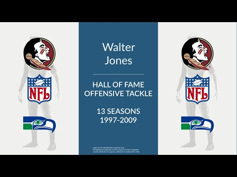 Walter Jones: Hall of Fame Football Offensive Tackle