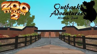 Zoo Tycoon 2: Outback Adventures Wildlife Park Part 1 - The Entrance