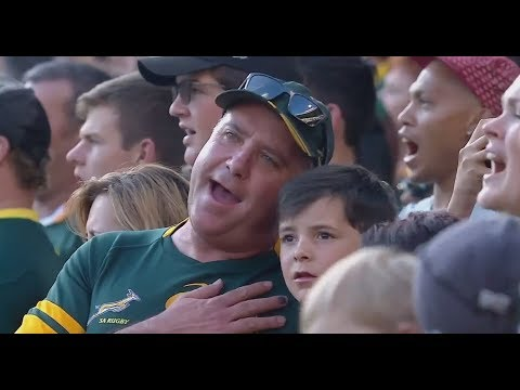 National Anthems - South Africa vs Australia [TRC Rd5 2017]