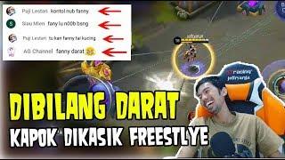 AWALNYA DIBILANG FANNY DARAT, BEGITU FREESTYLE HATERS JADI BISU • Mobile Legends Indonesia