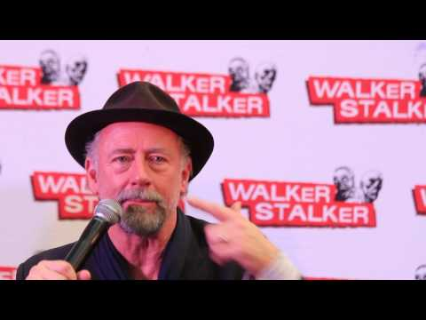 WSC London 2017  Xander Berkeley about  the relationship between Maggie & Gregory