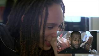 Griner Reacts to LeBron Message