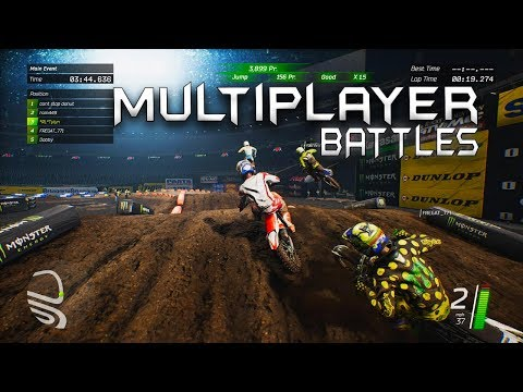 Multiplayer Battles - Monster Energy Supercross Game